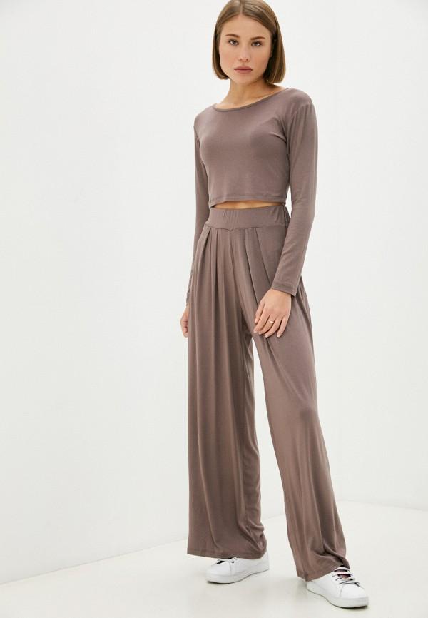 женский спортивный костюм trendyol, коричневый