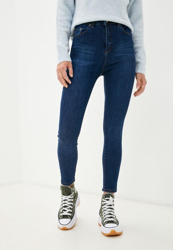 женские джинсы скинни trendyol, синие