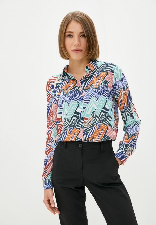 женская блузка с длинным рукавом trendyol, разноцветная