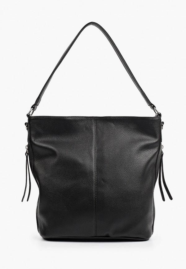 женская сумка с ручками vittoria vicci, черная