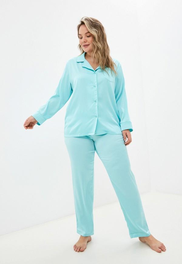 женская пижама новое время, бирюзовая