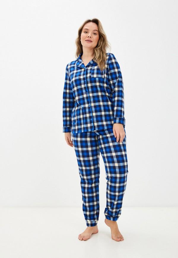 женская пижама новое время, синяя