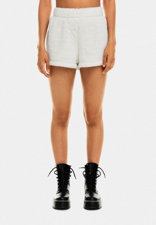 женские повседневные шорты befree, белые