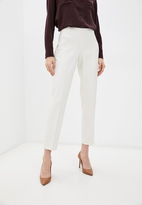 женские повседневные брюки boss, белые