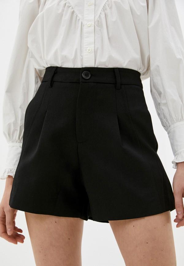 женские повседневные шорты indiano natural, черные