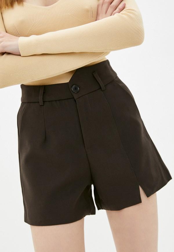 женские повседневные шорты indiano natural, коричневые