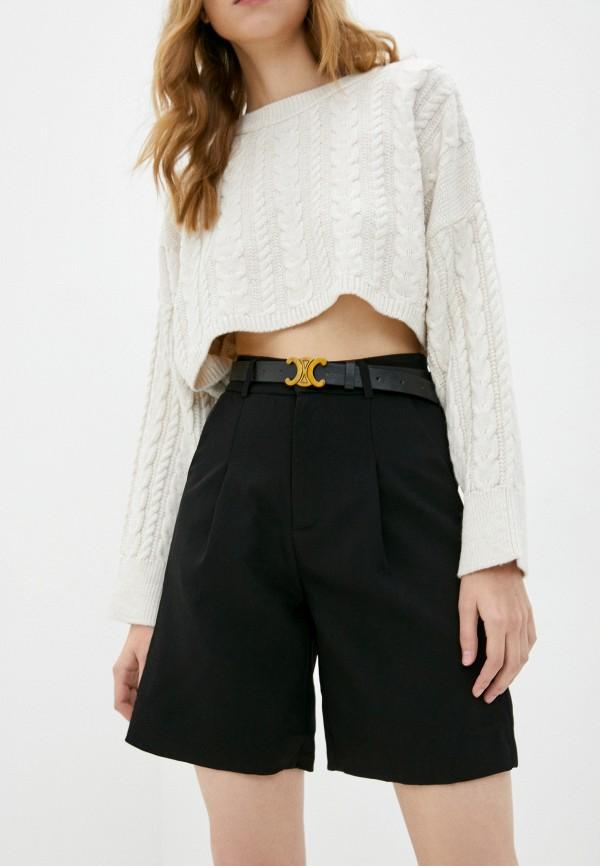 женские повседневные шорты fresh cotton, черные
