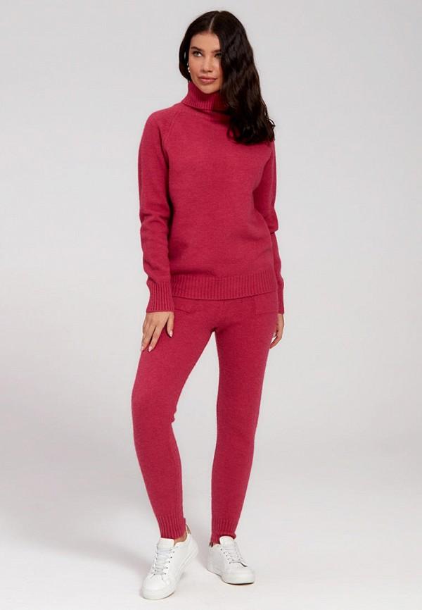 женский вязаные костюм marco bonne', красный