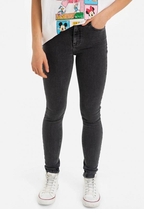 женские джинсы скинни gloria jeans, серые