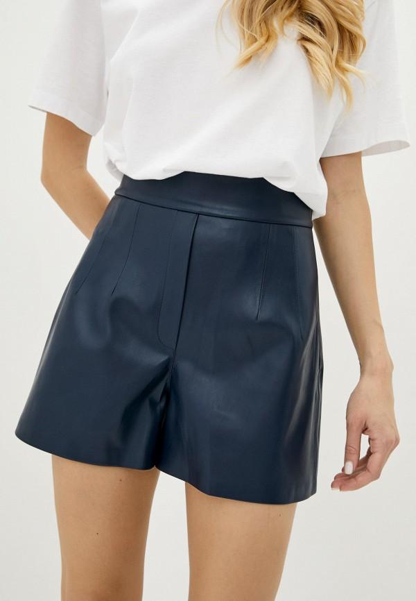 женские повседневные шорты ora, синие