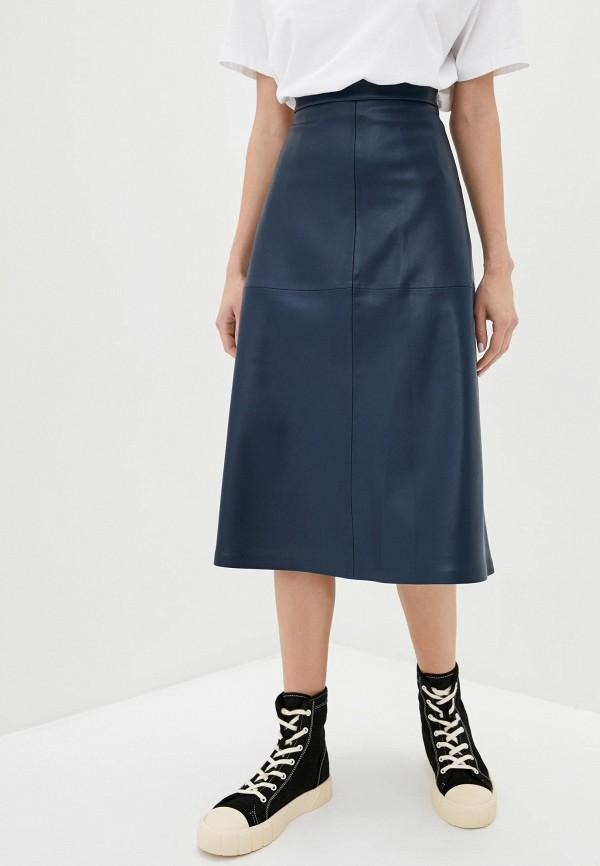 женская юбка ora, синяя