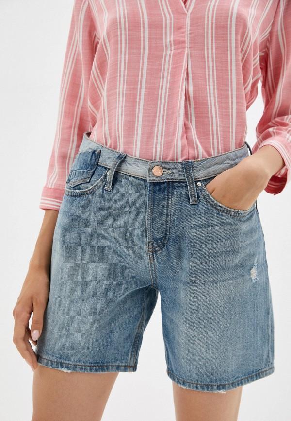 женские джинсовые шорты colin's, синие