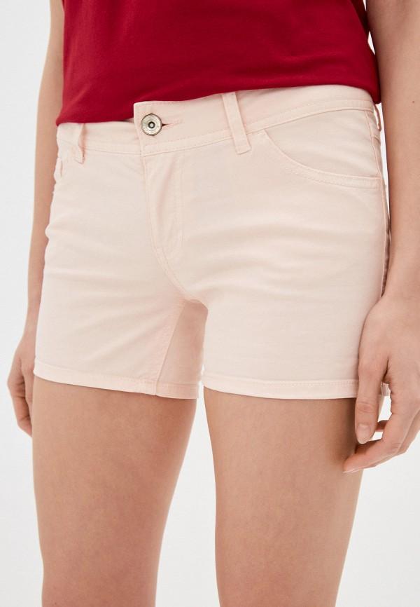 женские повседневные шорты colin's, розовые