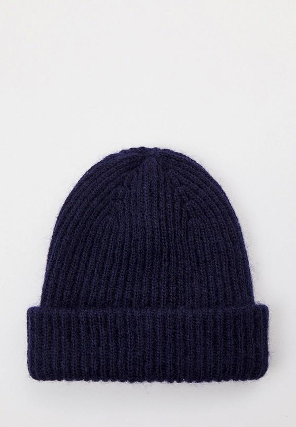 женская шапка balmuir, синяя