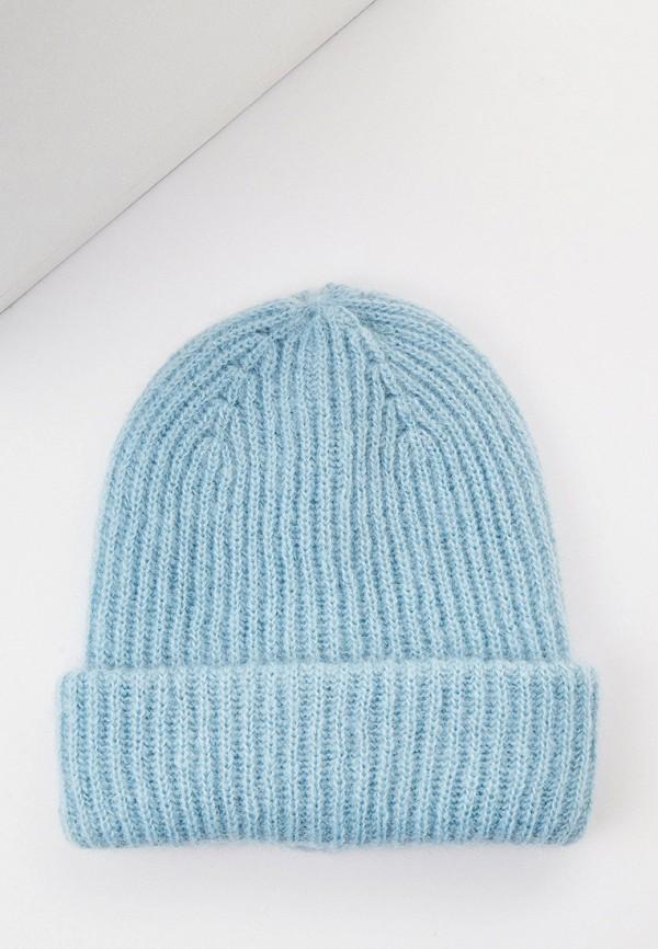 женская шапка balmuir, голубая