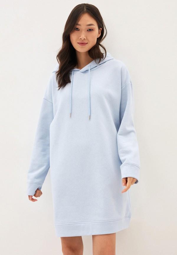 женское платье zarina, голубое