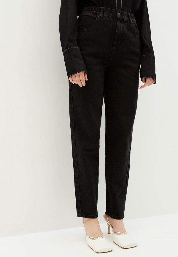 женские джинсы-мом zarina, черные