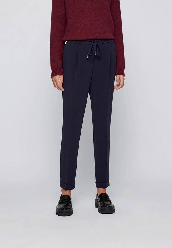 женские брюки джоггеры boss, синие