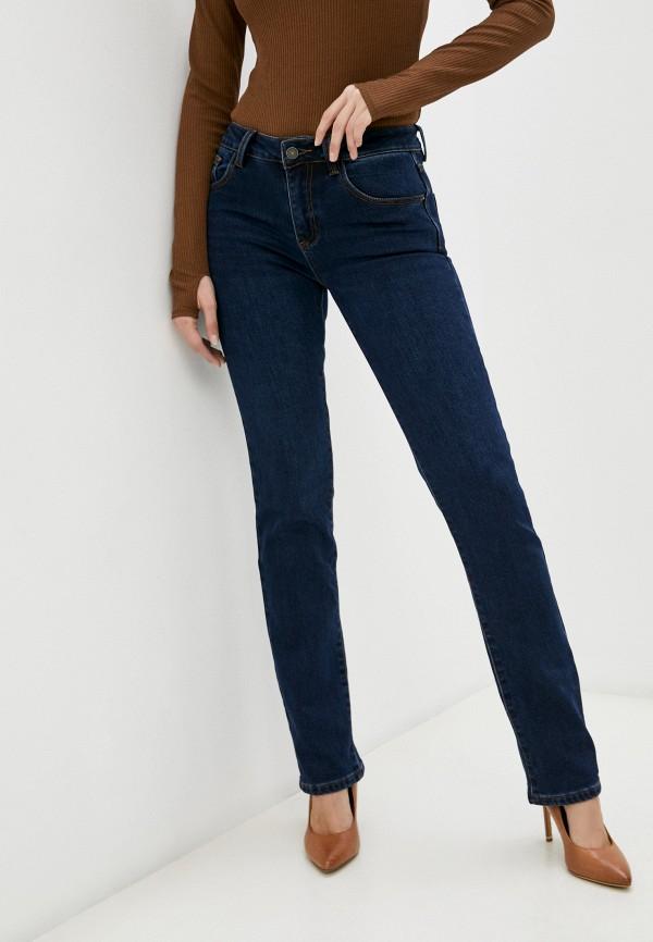 женские джинсы скинни mossmore, синие