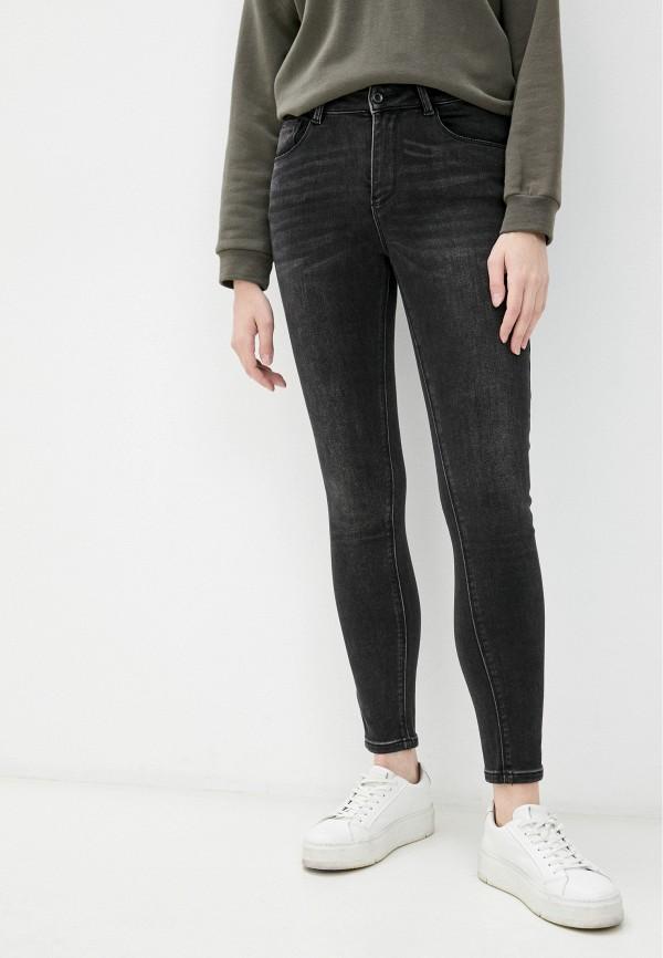 женские джинсы скинни mossmore, черные