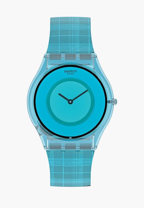 женские часы swatch, бирюзовые