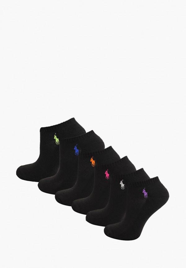 женские носки polo ralph lauren, черные