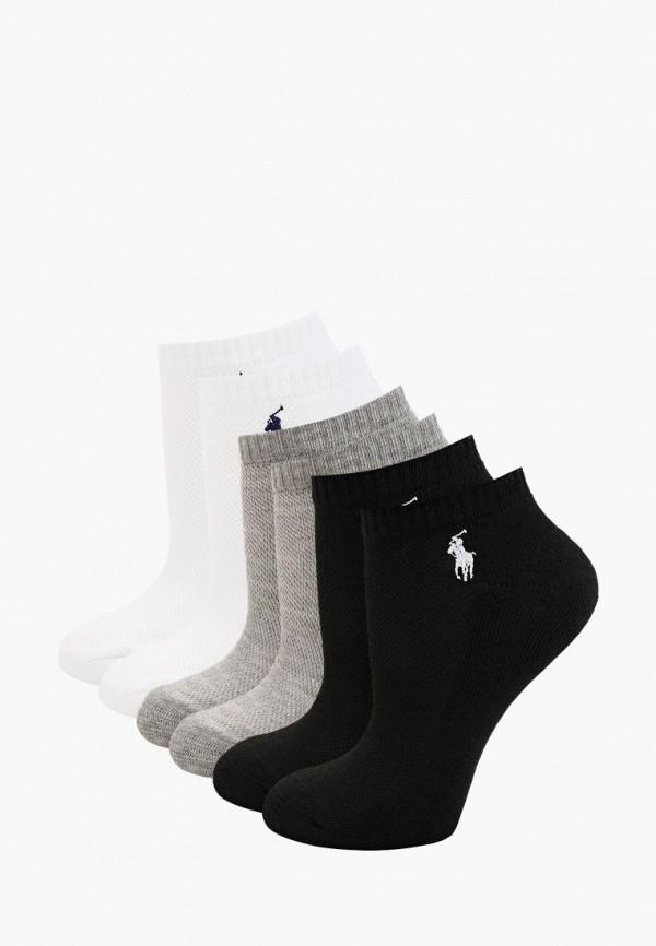 женские носки polo ralph lauren, разноцветные
