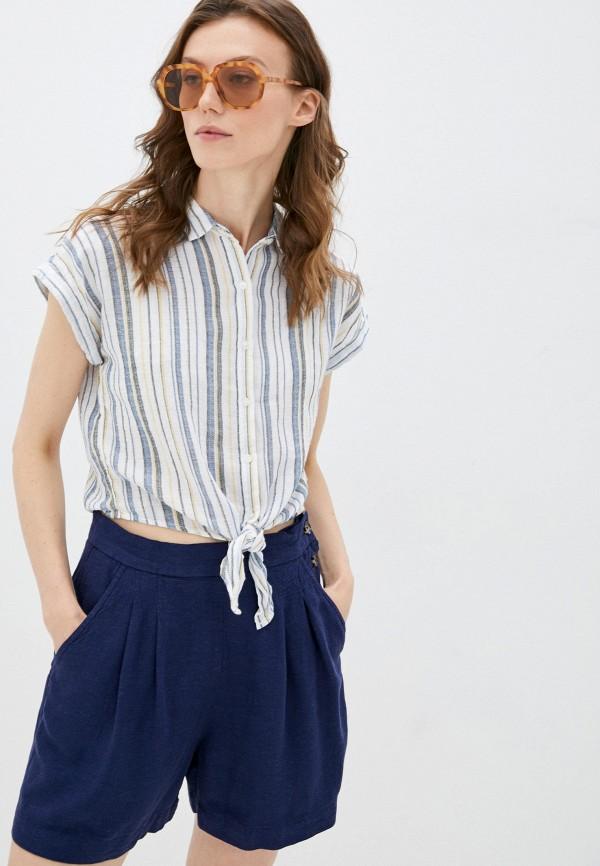 женская рубашка с коротким рукавом colin's, разноцветная