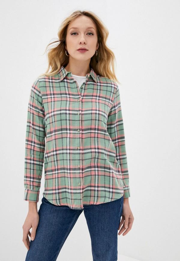 женская рубашка с длинным рукавом colin's, разноцветная