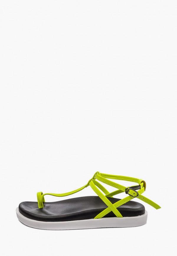 женские сандалии my day, зеленые