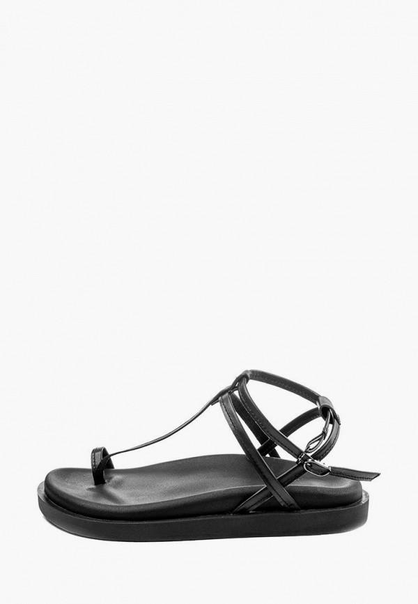 женские сандалии my day, черные