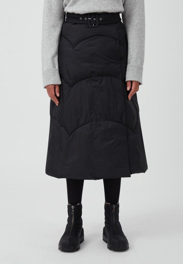 женская юбка-трапеции finn flare, черная