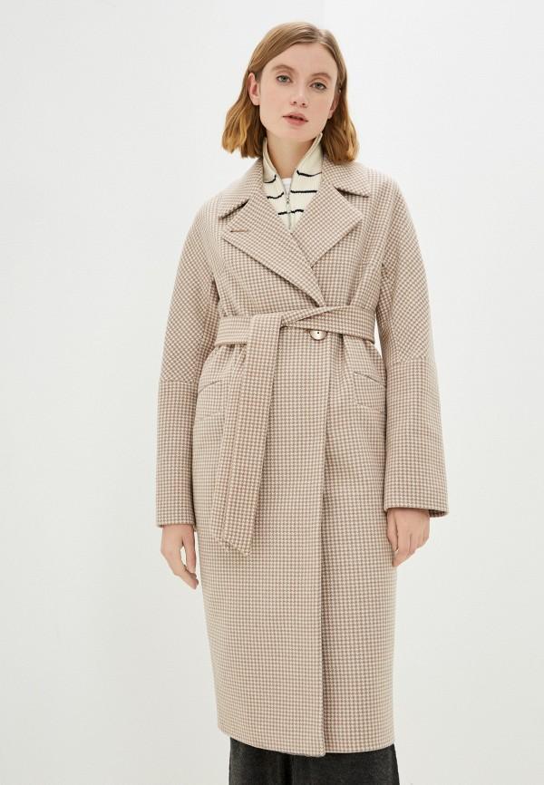 женское пальто vittoria vicci, бежевое