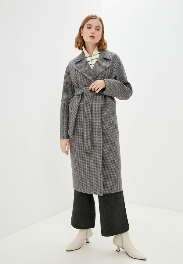 женское пальто vittoria vicci, серое