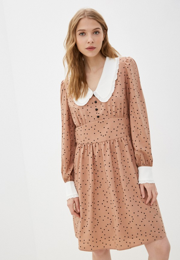 женское платье-рубашки vittoria vicci, бежевое