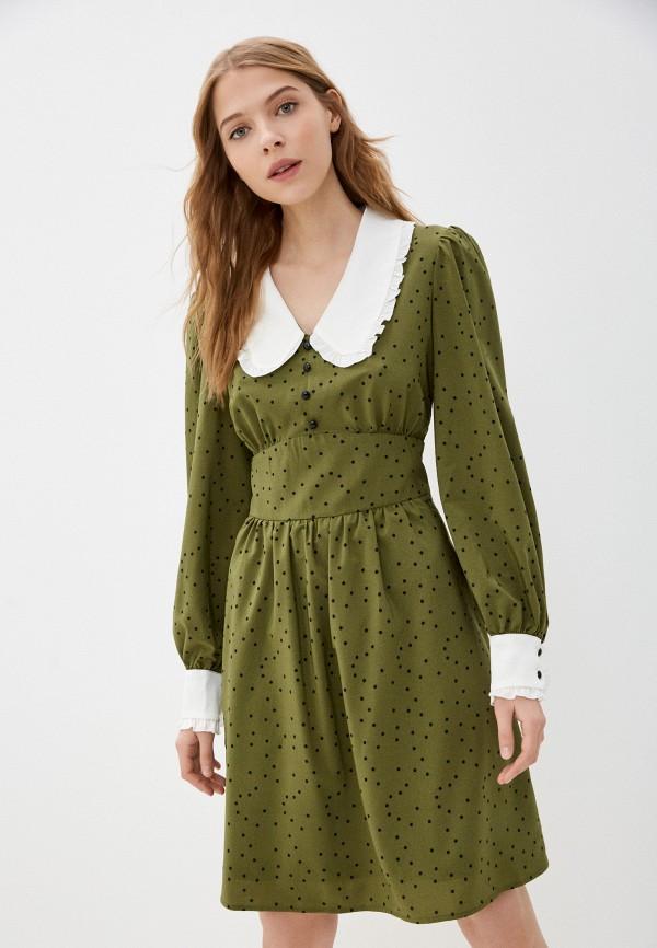 женское платье-рубашки vittoria vicci, хаки