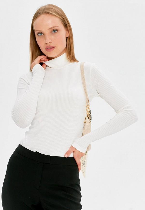 женская водолазка cardo, белая