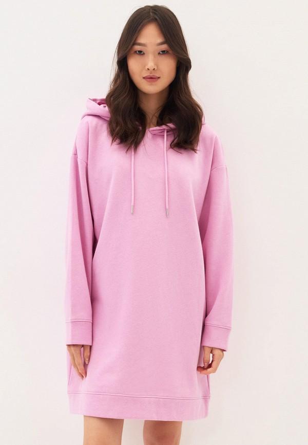 женское платье zarina, розовое