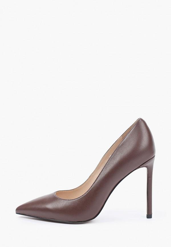 женские туфли-лодочки tuffoni, коричневые