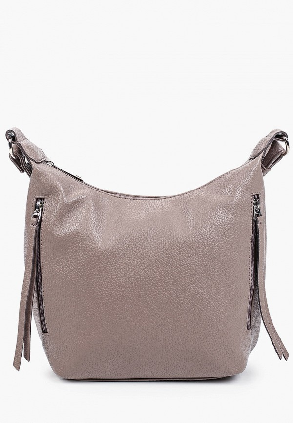 женская сумка через плечо vittoria vicci, бежевая