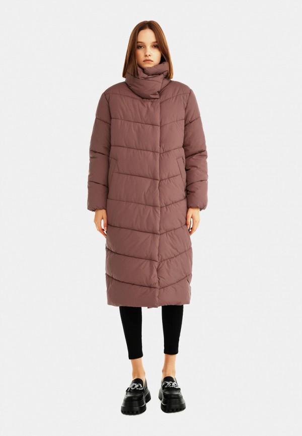 женская утепленные куртка befree, розовая
