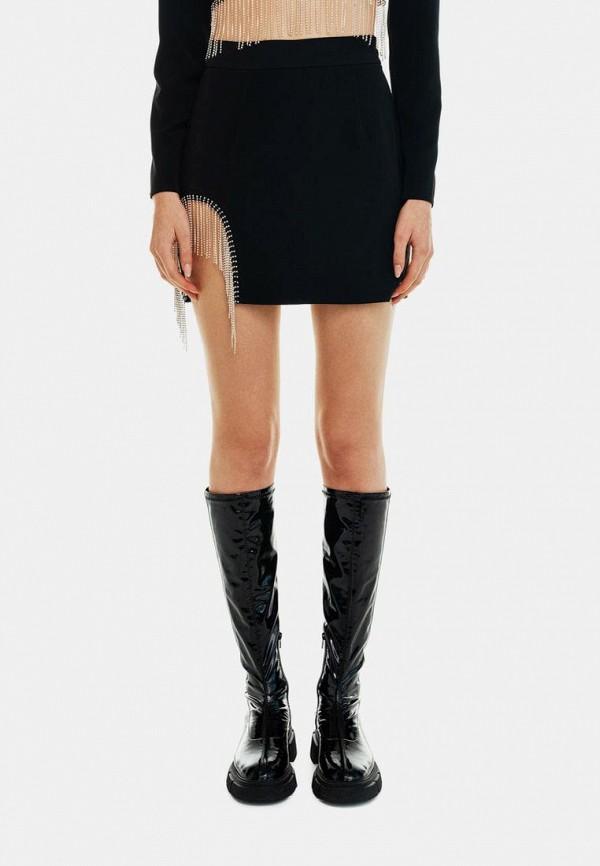 женская узкие юбка befree, черная
