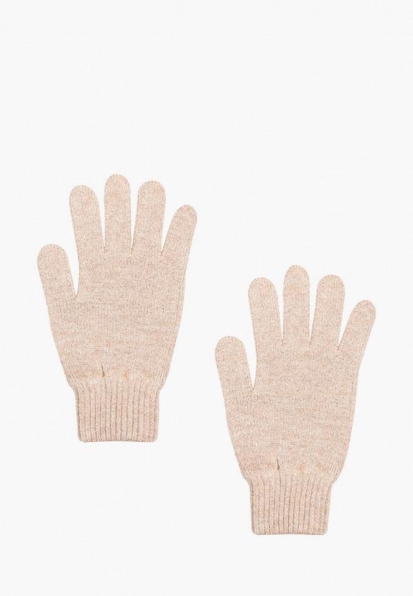 женские текстильные перчатки vittoria vicci, бежевые