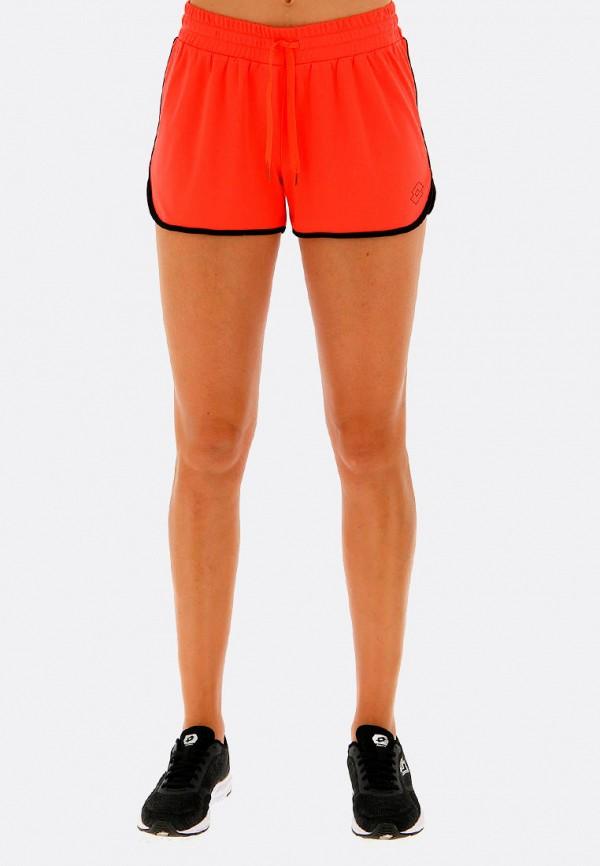женские шорты lotto, оранжевые