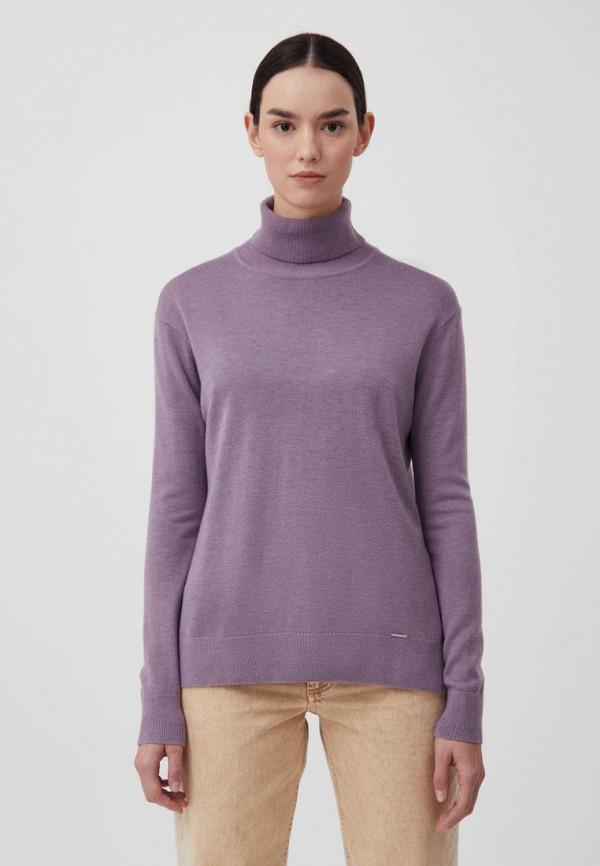 женская водолазка finn flare, фиолетовая