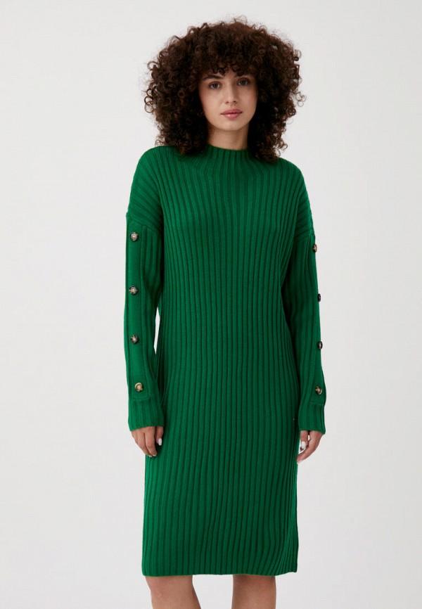 женское платье-свитеры finn flare, зеленое