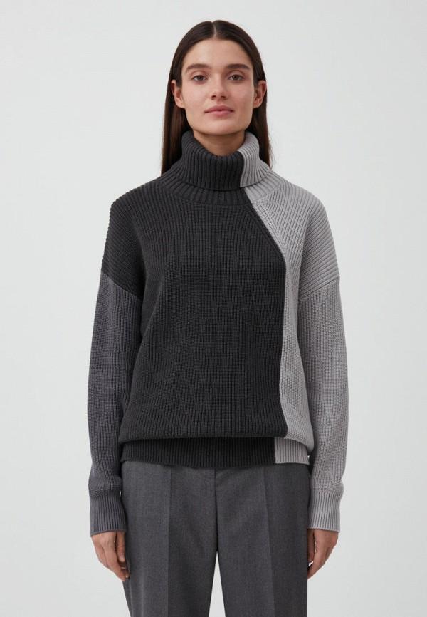 женский свитер finn flare, серый
