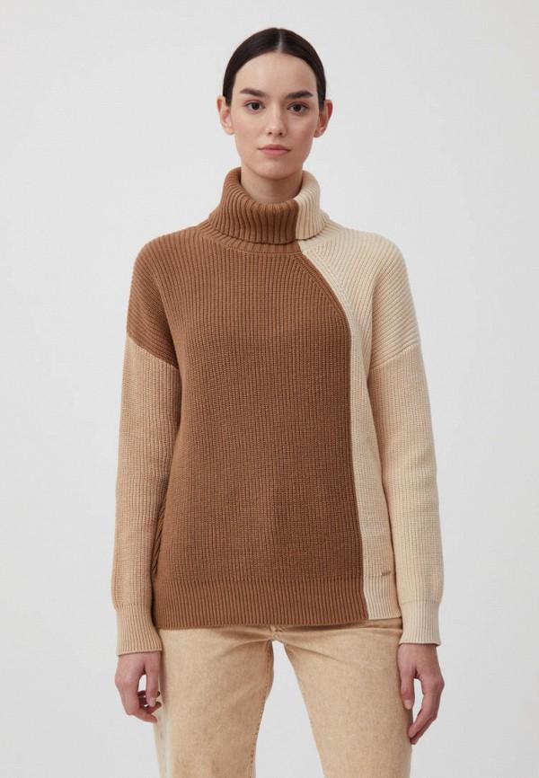 женский свитер finn flare, бежевый