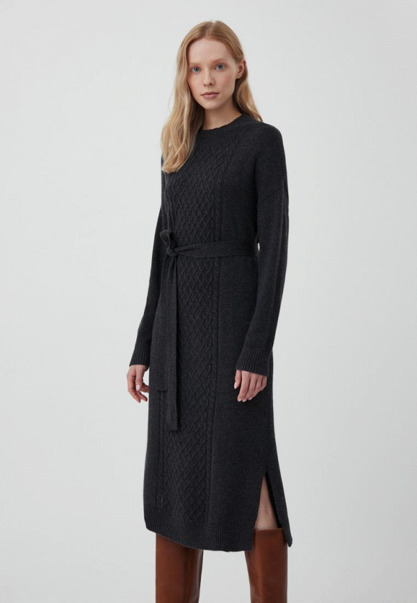 женское платье-свитеры finn flare, серое