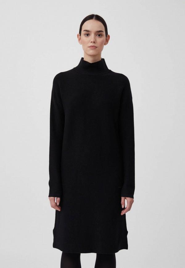 женское платье-свитеры finn flare, черное